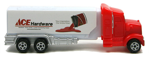 PEZ - Advertising ACE Hardware - Truck - White cab - paint can 2014