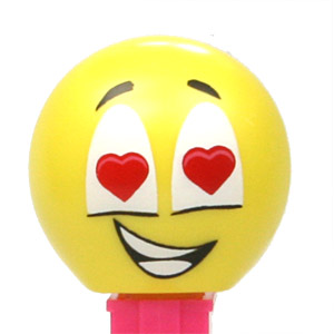 PEZ - Funky Faces - Emoticons - Lovey - Australian release