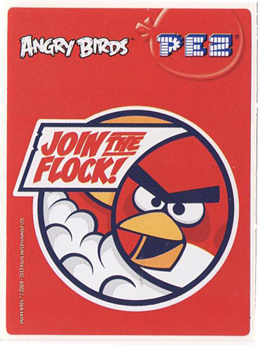 PEZ - Stickers - Angry Birds - Join the flock!