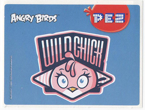 PEZ - Stickers - Angry Birds - Wild chick