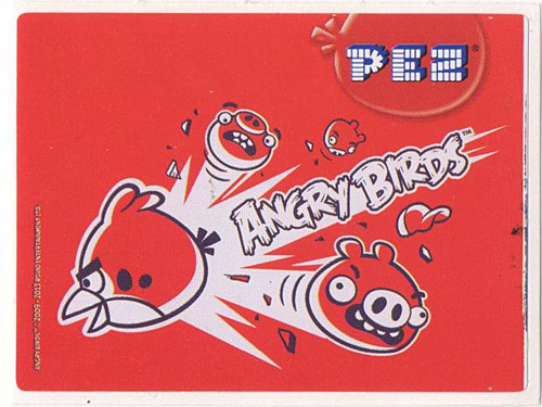PEZ - Stickers - Angry Birds - Red Bird
