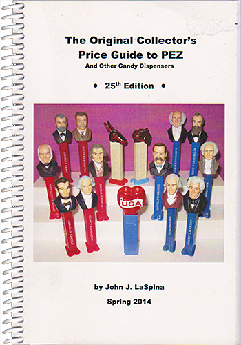 PEZ - Books - The Original Collector's Price Guide to PEZ - 25st Edition