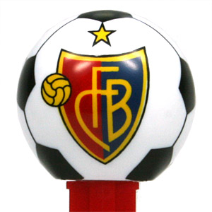 PEZ - Sports Promos - Swiss Football - FC Basel - with star