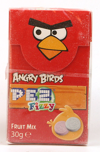 PEZ - Dextrose Packs - Angry Birds - red