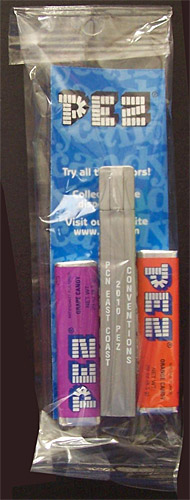 PEZ - Convention - PCN - 2010 - Regular Remake - Silver Top
