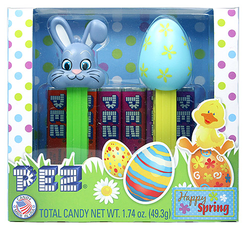PEZ - Easter - Bunny G with Light Blue Egg Giftset