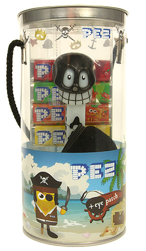 PEZ - Halloween - Halloween 2003 - Skull - Big Tube - C
