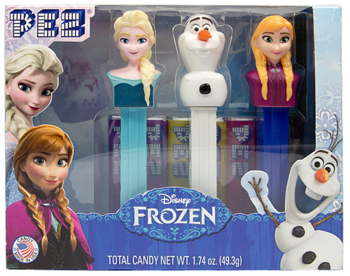 PEZ - Disney Movies - Frozen - Frozen Gift Set