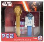 PEZ - Twin Pack  C3PO & R2-D2