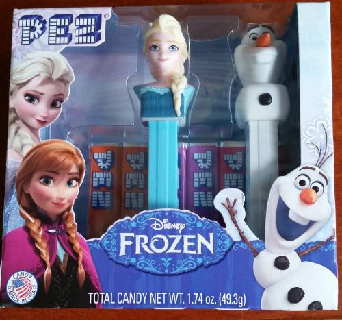 PEZ - Disney Movies - Frozen - Elsa & Olaf Gift Set