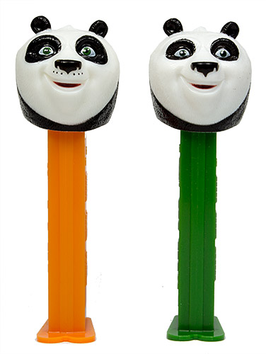 PEZ - Dreamworks Movies - Kung Fu Panda - Po - nose with dots