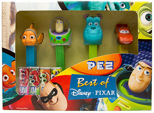 PEZ - Best of Pixar - Best of Disney Pixar Gift Set