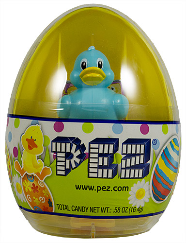 PEZ - Easter - Mini Gift Egg - Duck - Light Blue - A