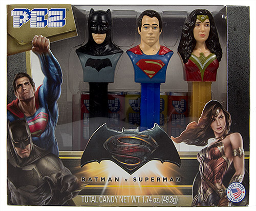 PEZ - Batman vs. Superman - Justice League Gift Set 3-Pack