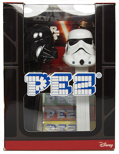 PEZ - Limited Edition - Twin Pack - Darth Vader B & Stormtrooper