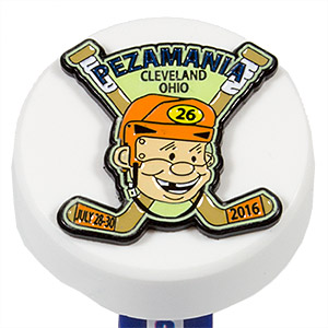 PEZ - Convention - PEZAMANIA - 2016 - Puck Orange with Green