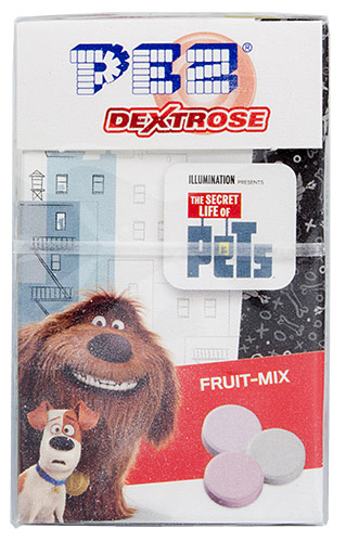 PEZ - Dextrose Packs - The Secret Life of Pets