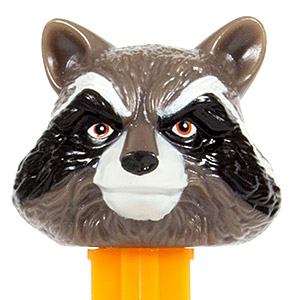 PEZ - Super Heroes - Guardians of the Galaxy - Rocket Racoon