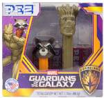 PEZ - Rocket Racoon & Groot Twin Pack