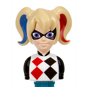 PEZ - Super Heroes - Super Hero Girls - Harley Quinn