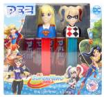 PEZ - Twin Pack Super Hero Girls & Harley Quinn  US Release