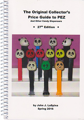 PEZ - Books - The Original Collector's Price Guide to PEZ - 27th Edition