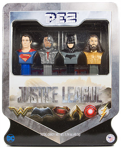 PEZ - Super Heroes - Justice League - Justice League Tin