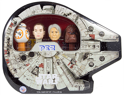 PEZ - Star Wars - Limited Edition - Millennium Falcon Tin