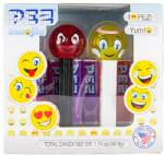 PEZ - Emoji Twin Pack Angel Crystal & Devilish Crystal
