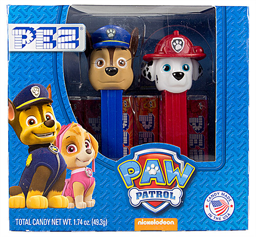 PEZ - Paw Patrol - Paw Patrol Twin Pack Marshall & Chase