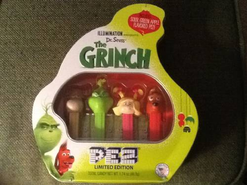 PEZ - Grinch - The Grinch Collectors Tin