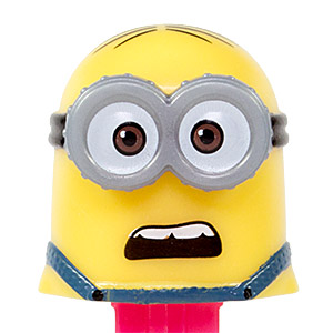 PEZ - Despicable Me - Despicable Me 3 - Minion Dave - screaming mouth - B