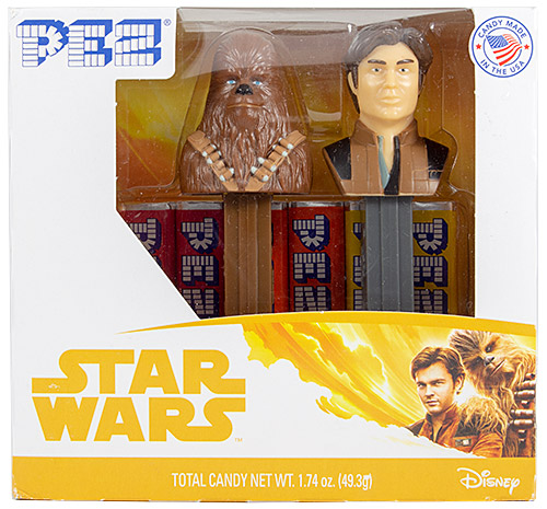 PEZ - Star Wars - Han Solo - Twin Pack Chewbacca C and Han Solo