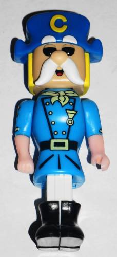 PEZ - Ad Icons - Target - Cap'n Crunch - Blue Hat, White Stem