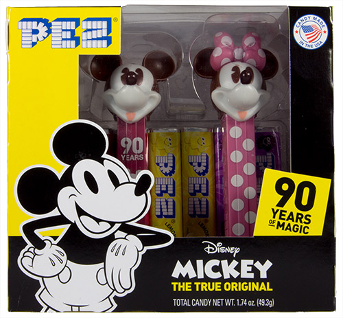 PEZ - Disney Classic - Disney 90 Years Twin Box Mickey & Minnie