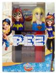 PEZ - Twin Pack Super Hero Girls & Harley Quinn  Euro Release