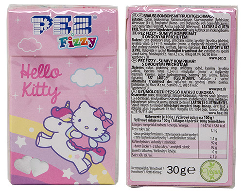 PEZ - Dextrose Packs - Hello Kitty Unicorn