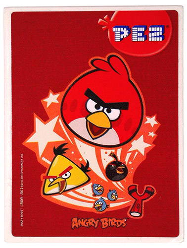 PEZ - Stickers - Angry Birds - Stars White