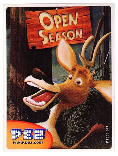 PEZ - Stickers - Open Season - Elliot