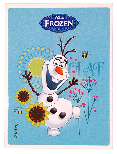 PEZ - Stickers - Frozen - Olaf
