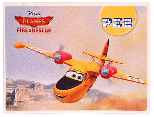 PEZ - Stickers - Planes Fire & Rescue - Lil' Dipper