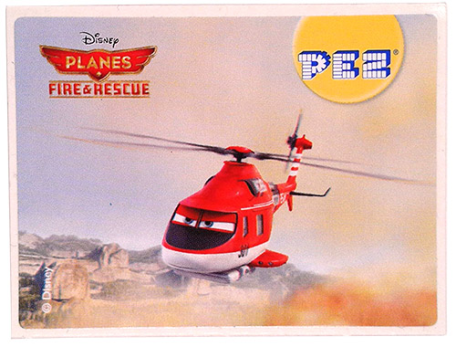 PEZ - Stickers - Planes Fire & Rescue - Blade Ranger