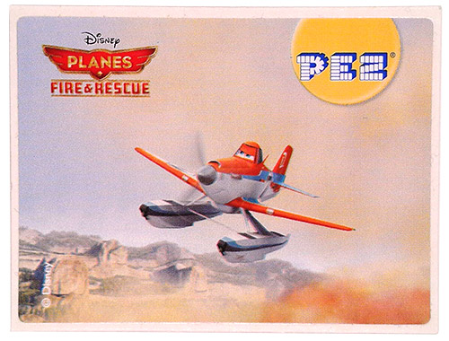 PEZ - Stickers - Planes Fire & Rescue - Duster
