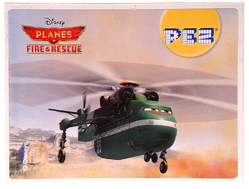 PEZ - Stickers - Planes Fire & Rescue - Windlifter
