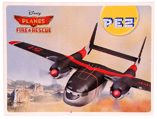 PEZ - Stickers - Planes Fire & Rescue - Cabbie