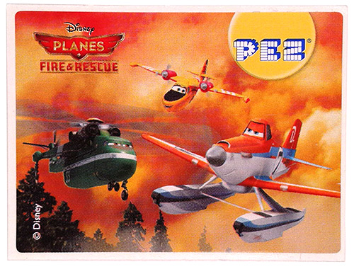 PEZ - Planes Fire & Rescue - Windlifter, Lil' Dipper & Duster