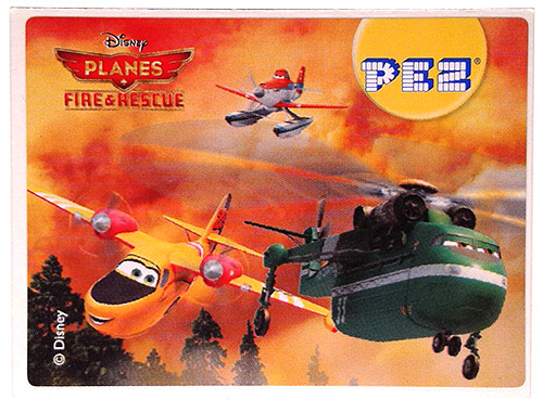 PEZ - Planes Fire & Rescue - Lil' Dipper, Duster & Windlifter