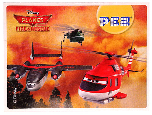 PEZ - Planes Fire & Rescue - Cabbie, Windlifter & Blade Ranger