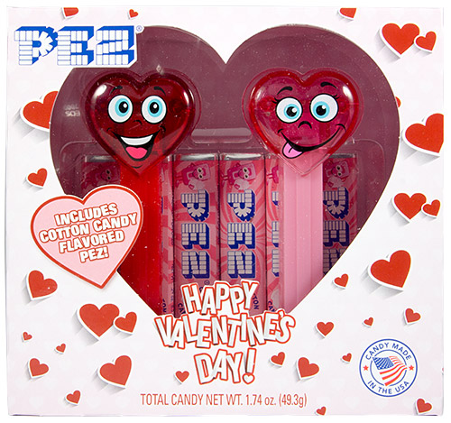 PEZ - Valentines - Happy Hearts Valentines Twin Pack
