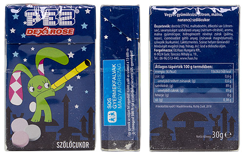 PEZ - Dextrose Packs - SOS children village - night